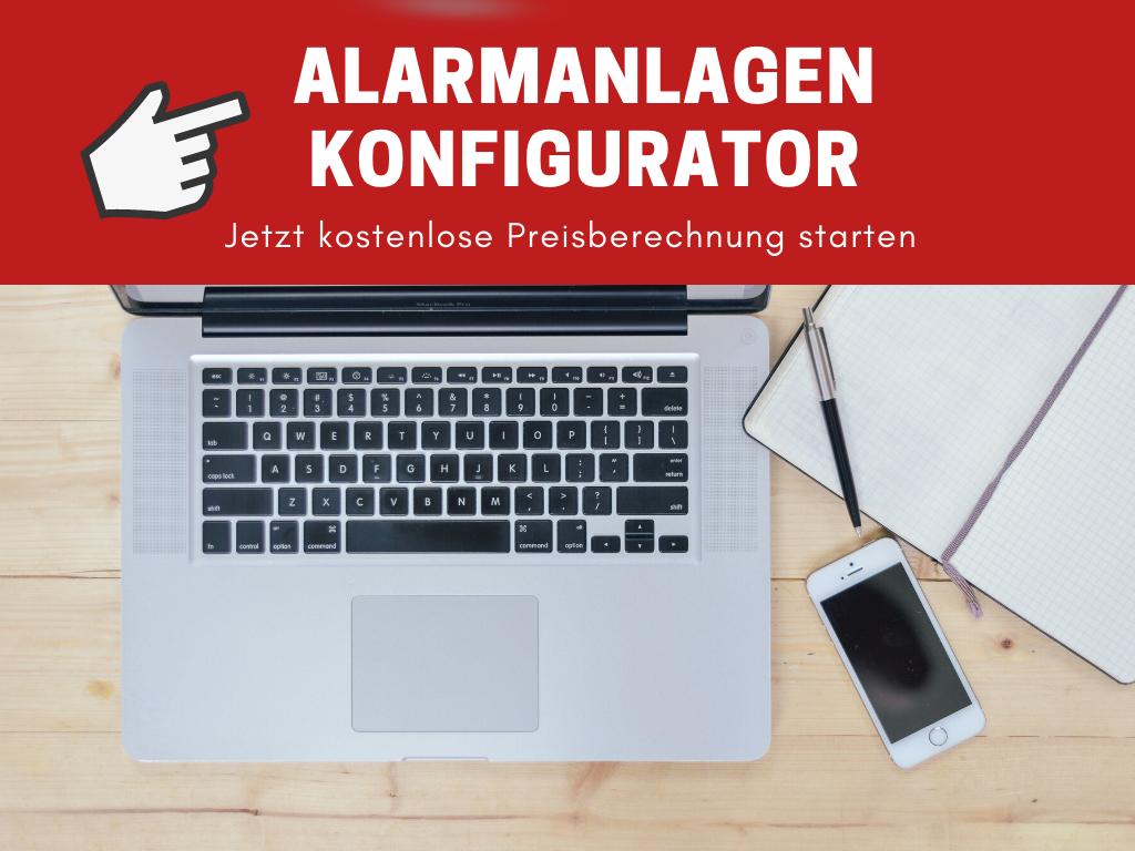 Alarmanlage online konfigurieren
